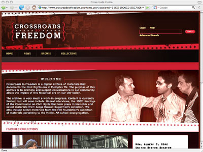Crossroads to Freedom Website