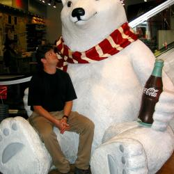 truk and the Coke bear