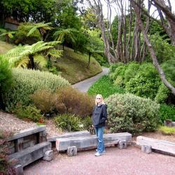 kath in Wellington Garden