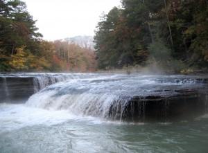 Haw Creek Falls at Dawn